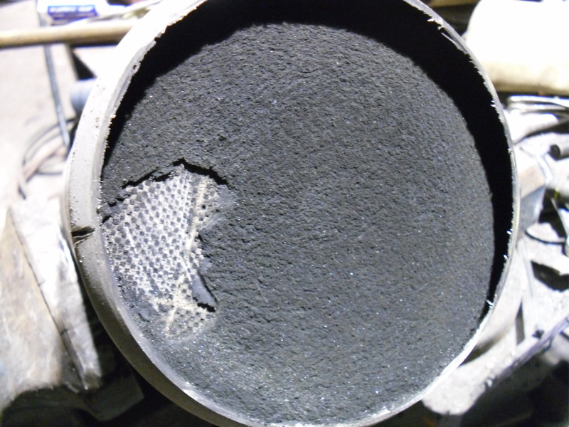 Ash in DPF Filter